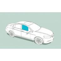 Боковое стекло правое AUDI 200/V8/100