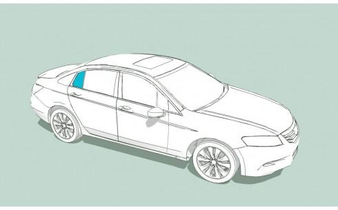 Боковое стекло правое Боковое стекло правое MERCEDES S-Class W126 прав.руль