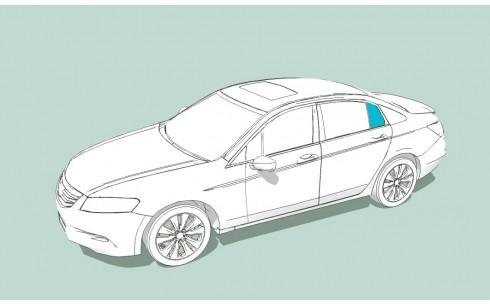 Боковое стекло левое BMW 5 (E39)/M5 (E39)