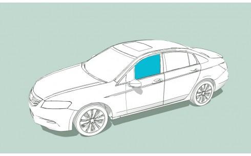 Боковое стекло левое AUDI S6/A6/RS6