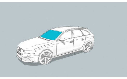 Лобовое стекло AUDI 200/V8/100