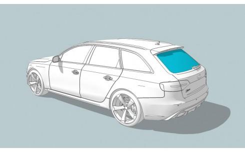 Заднее стекло SKODA Octavia A5