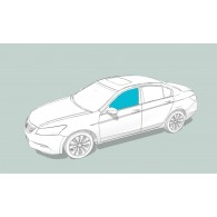 Боковое стекло левое AUDI 200/V8/100