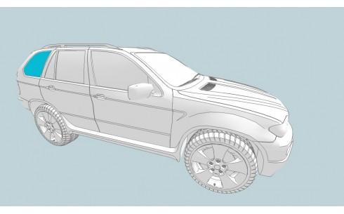Боковое стекло правое TOYOTA Land Cruiser 100 GX/Land Cruiser 100 VX