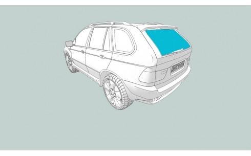 Заднее стекло GAZ 3307/4301